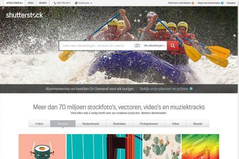 Acceptatie bij Shutterstock nu veel makkelijker